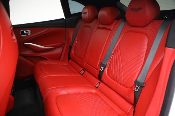 New 2021 Aston Martin DBX for sale $210,386 at Alfa Romeo of Greenwich in Greenwich CT 06830 22