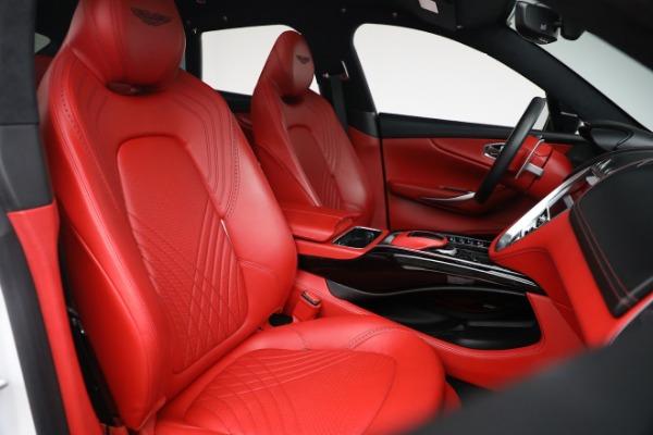 New 2021 Aston Martin DBX for sale $210,386 at Alfa Romeo of Greenwich in Greenwich CT 06830 24