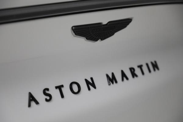 New 2021 Aston Martin DBX for sale $210,386 at Alfa Romeo of Greenwich in Greenwich CT 06830 27