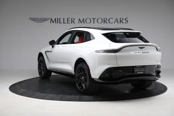 New 2021 Aston Martin DBX for sale $210,386 at Alfa Romeo of Greenwich in Greenwich CT 06830 4