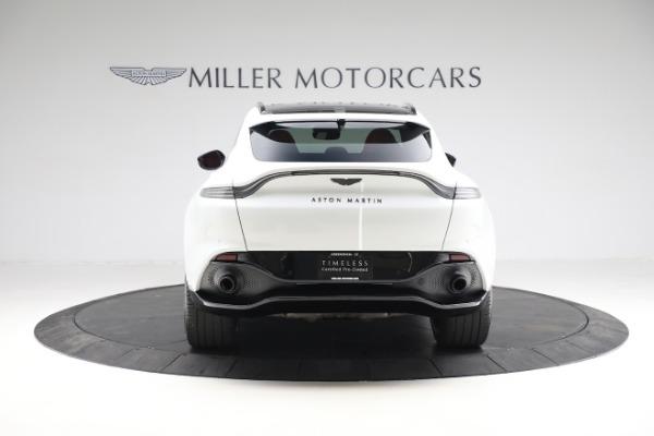 New 2021 Aston Martin DBX for sale $210,386 at Alfa Romeo of Greenwich in Greenwich CT 06830 5