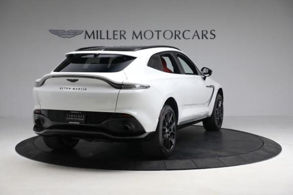 New 2021 Aston Martin DBX for sale $210,386 at Alfa Romeo of Greenwich in Greenwich CT 06830 6