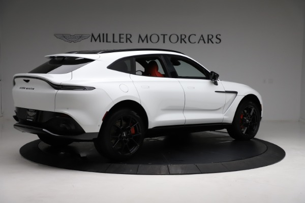 New 2021 Aston Martin DBX for sale $210,386 at Alfa Romeo of Greenwich in Greenwich CT 06830 7