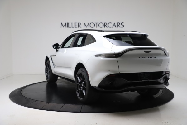 New 2021 Aston Martin DBX for sale $206,286 at Alfa Romeo of Greenwich in Greenwich CT 06830 4