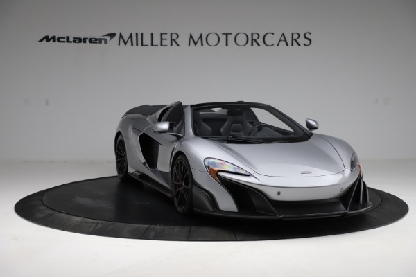 Used 2016 McLaren 675LT Spider for sale Call for price at Alfa Romeo of Greenwich in Greenwich CT 06830 10