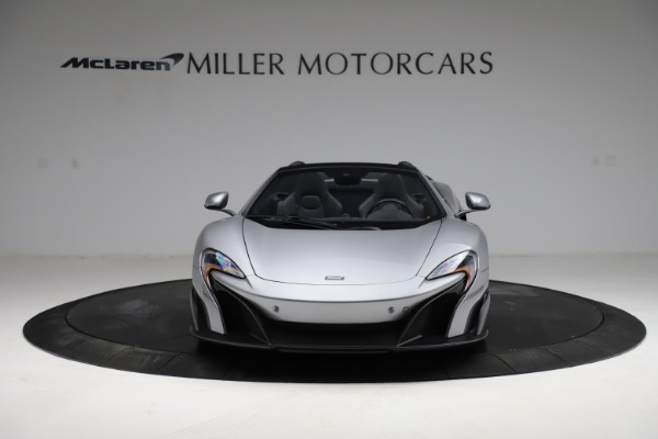 Used 2016 McLaren 675LT Spider for sale Call for price at Alfa Romeo of Greenwich in Greenwich CT 06830 11