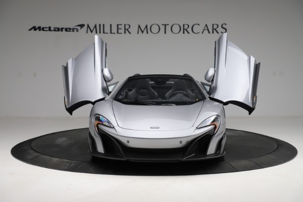 Used 2016 McLaren 675LT Spider for sale Call for price at Alfa Romeo of Greenwich in Greenwich CT 06830 12