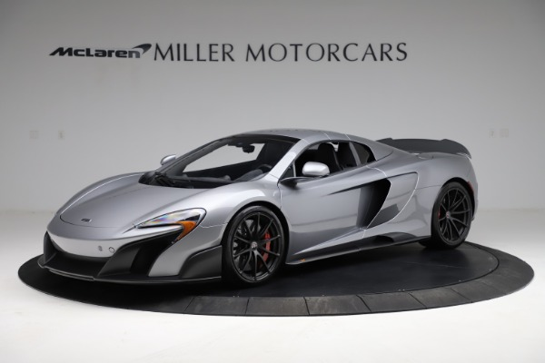 Used 2016 McLaren 675LT Spider for sale Call for price at Alfa Romeo of Greenwich in Greenwich CT 06830 14
