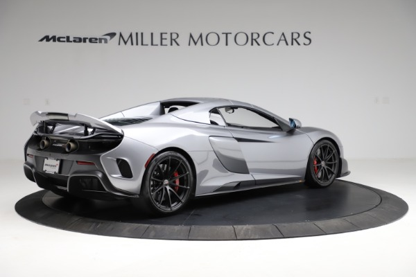 Used 2016 McLaren 675LT Spider for sale Call for price at Alfa Romeo of Greenwich in Greenwich CT 06830 18