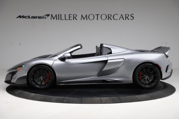 Used 2016 McLaren 675LT Spider for sale Call for price at Alfa Romeo of Greenwich in Greenwich CT 06830 2