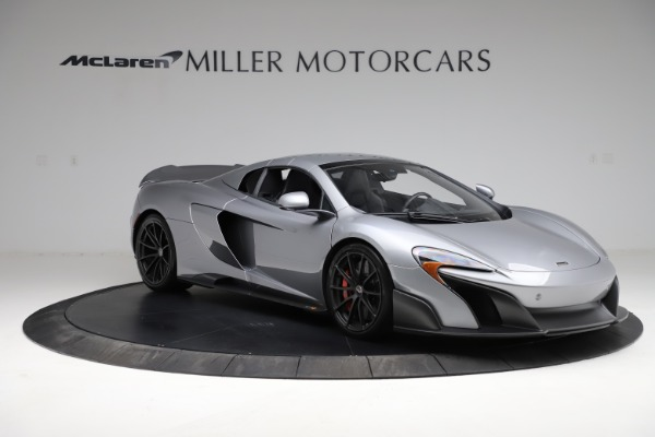 Used 2016 McLaren 675LT Spider for sale Call for price at Alfa Romeo of Greenwich in Greenwich CT 06830 20