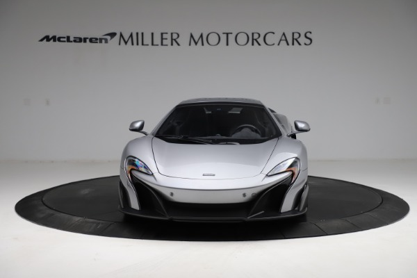 Used 2016 McLaren 675LT Spider for sale Call for price at Alfa Romeo of Greenwich in Greenwich CT 06830 21
