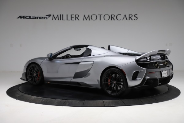 Used 2016 McLaren 675LT Spider for sale Call for price at Alfa Romeo of Greenwich in Greenwich CT 06830 3