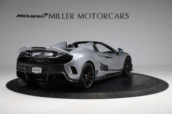 Used 2016 McLaren 675LT Spider for sale Call for price at Alfa Romeo of Greenwich in Greenwich CT 06830 6