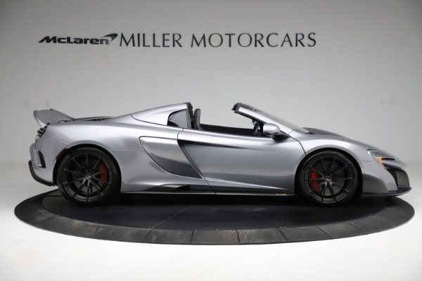 Used 2016 McLaren 675LT Spider for sale Call for price at Alfa Romeo of Greenwich in Greenwich CT 06830 8