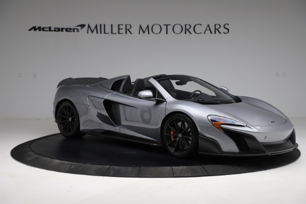 Used 2016 McLaren 675LT Spider for sale Call for price at Alfa Romeo of Greenwich in Greenwich CT 06830 9