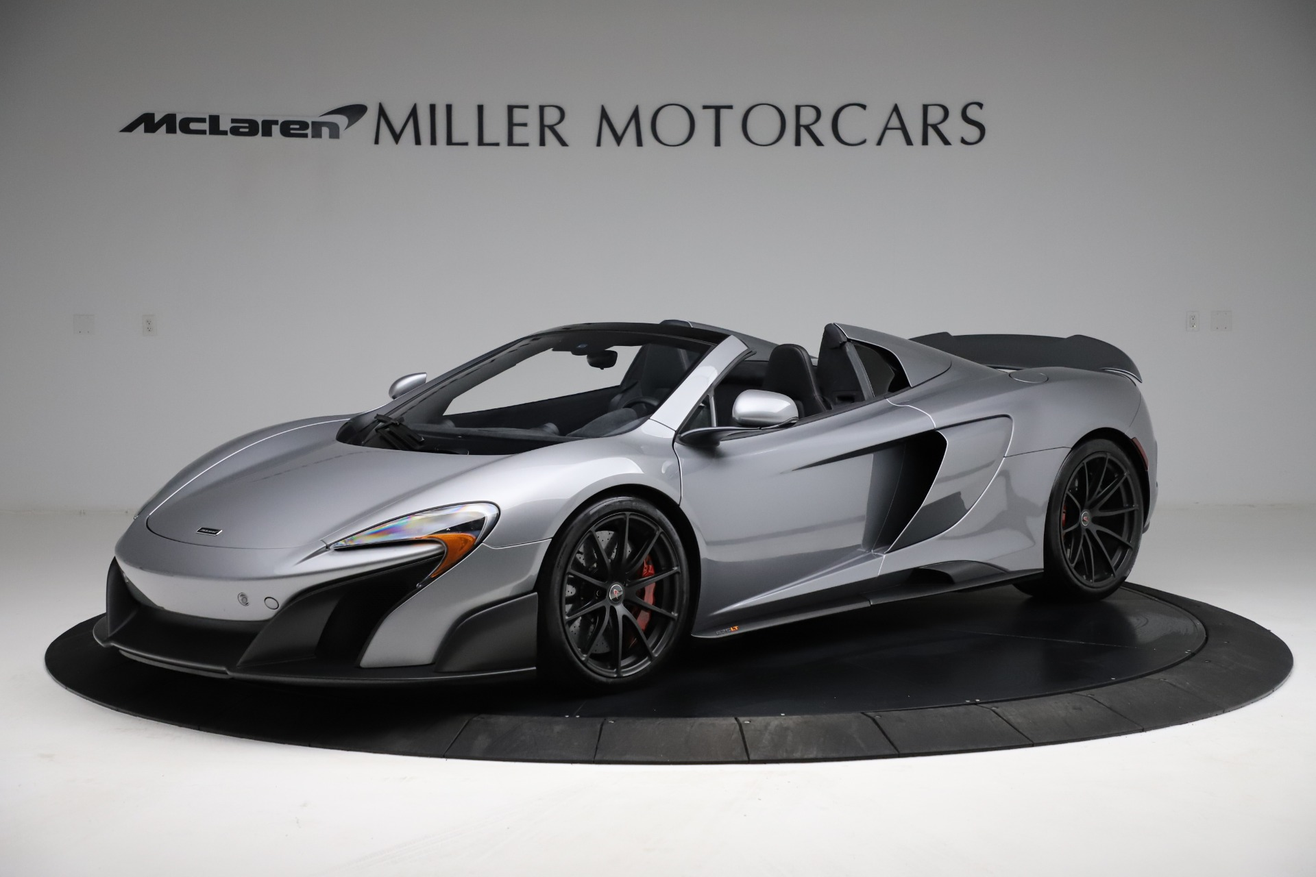 Used 2016 McLaren 675LT Spider for sale Call for price at Alfa Romeo of Greenwich in Greenwich CT 06830 1