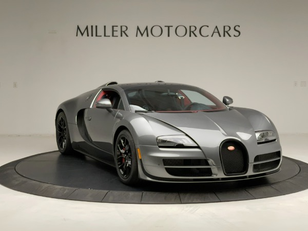 Used 2013 Bugatti Veyron 16.4 Grand Sport Vitesse for sale Call for price at Alfa Romeo of Greenwich in Greenwich CT 06830 19