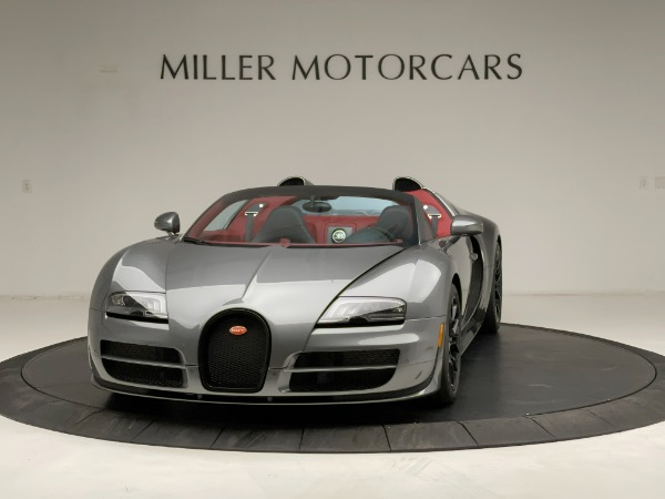 Used 2013 Bugatti Veyron 16.4 Grand Sport Vitesse for sale Call for price at Alfa Romeo of Greenwich in Greenwich CT 06830 2