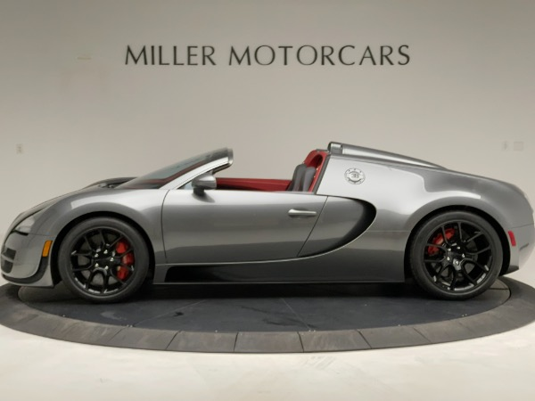 Used 2013 Bugatti Veyron 16.4 Grand Sport Vitesse for sale Call for price at Alfa Romeo of Greenwich in Greenwich CT 06830 3