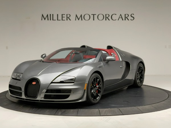 Used 2013 Bugatti Veyron 16.4 Grand Sport Vitesse for sale Call for price at Alfa Romeo of Greenwich in Greenwich CT 06830 1