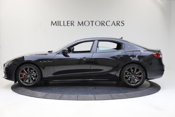 New 2021 Maserati Ghibli S Q4 GranSport for sale $100,285 at Alfa Romeo of Greenwich in Greenwich CT 06830 3