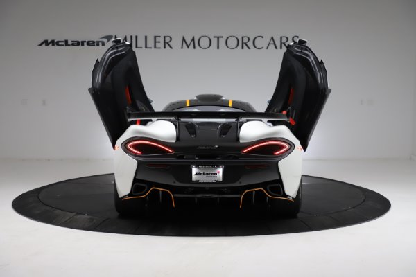 New 2020 McLaren 620R for sale Call for price at Alfa Romeo of Greenwich in Greenwich CT 06830 13