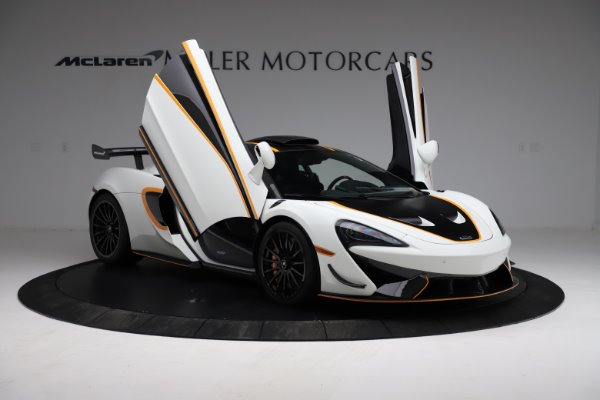 New 2020 McLaren 620R for sale Call for price at Alfa Romeo of Greenwich in Greenwich CT 06830 15