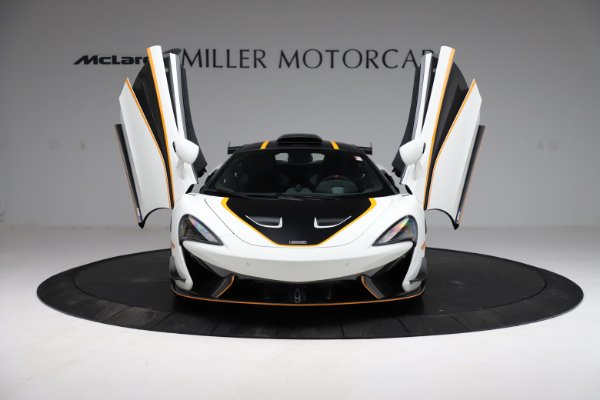 New 2020 McLaren 620R for sale Call for price at Alfa Romeo of Greenwich in Greenwich CT 06830 16