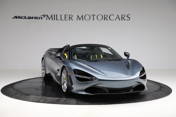 New 2021 McLaren 720S Spider for sale $351,450 at Alfa Romeo of Greenwich in Greenwich CT 06830 10