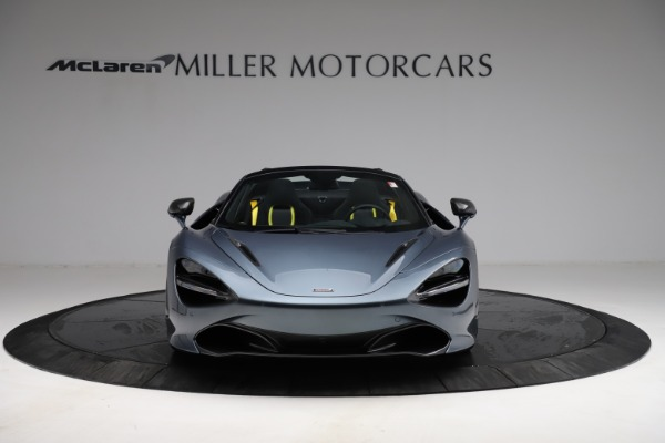 New 2021 McLaren 720S Spider for sale $351,450 at Alfa Romeo of Greenwich in Greenwich CT 06830 11