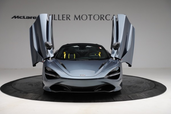 New 2021 McLaren 720S Spider for sale $351,450 at Alfa Romeo of Greenwich in Greenwich CT 06830 12