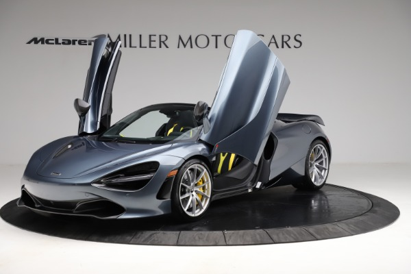 New 2021 McLaren 720S Spider for sale $351,450 at Alfa Romeo of Greenwich in Greenwich CT 06830 13