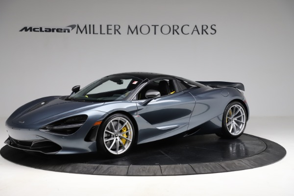 New 2021 McLaren 720S Spider for sale $351,450 at Alfa Romeo of Greenwich in Greenwich CT 06830 14