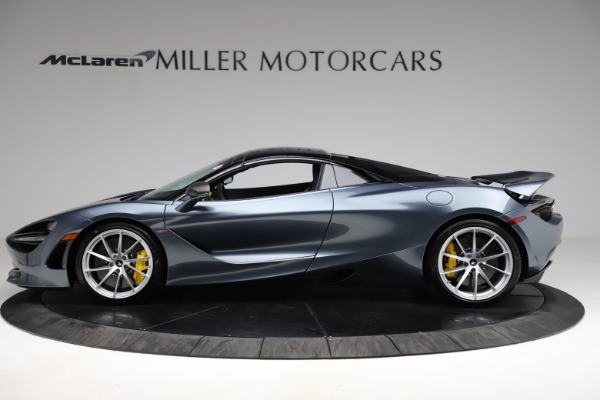 New 2021 McLaren 720S Spider for sale $351,450 at Alfa Romeo of Greenwich in Greenwich CT 06830 15