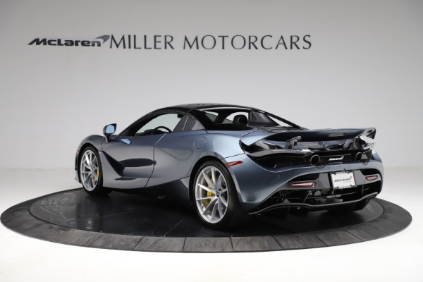 New 2021 McLaren 720S Spider for sale $351,450 at Alfa Romeo of Greenwich in Greenwich CT 06830 16