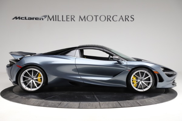 New 2021 McLaren 720S Spider for sale $351,450 at Alfa Romeo of Greenwich in Greenwich CT 06830 19