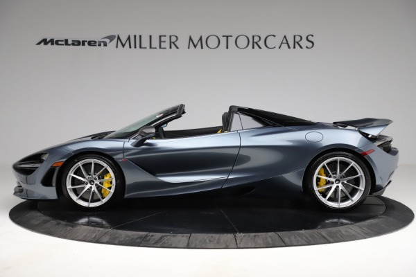 New 2021 McLaren 720S Spider for sale $351,450 at Alfa Romeo of Greenwich in Greenwich CT 06830 2