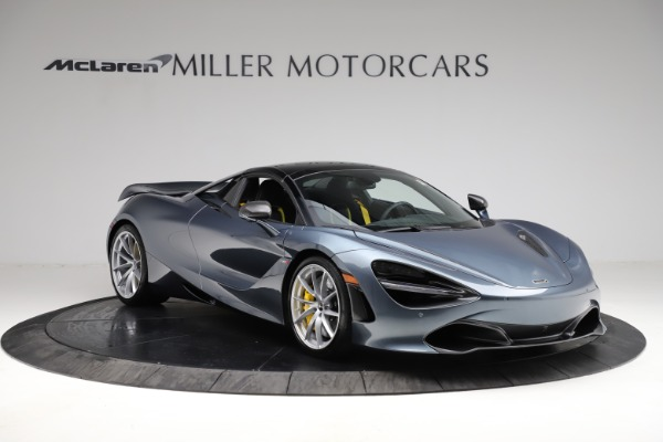 New 2021 McLaren 720S Spider for sale $351,450 at Alfa Romeo of Greenwich in Greenwich CT 06830 20