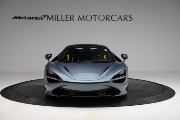 New 2021 McLaren 720S Spider for sale $351,450 at Alfa Romeo of Greenwich in Greenwich CT 06830 21