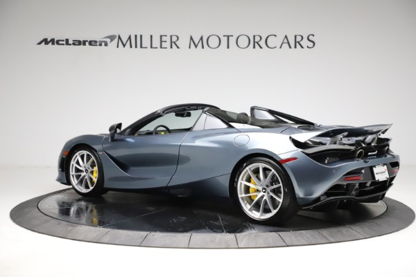 New 2021 McLaren 720S Spider for sale $351,450 at Alfa Romeo of Greenwich in Greenwich CT 06830 3