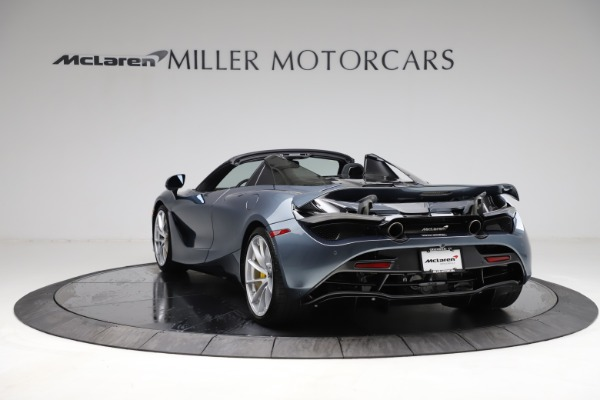 New 2021 McLaren 720S Spider for sale $351,450 at Alfa Romeo of Greenwich in Greenwich CT 06830 4