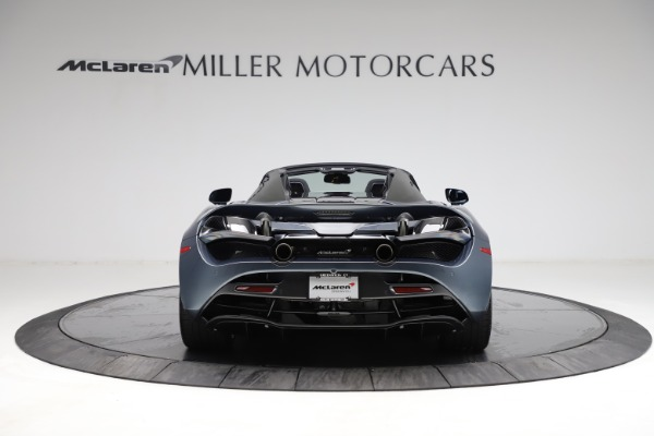 New 2021 McLaren 720S Spider for sale $351,450 at Alfa Romeo of Greenwich in Greenwich CT 06830 5