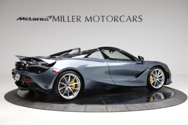 New 2021 McLaren 720S Spider for sale $351,450 at Alfa Romeo of Greenwich in Greenwich CT 06830 7