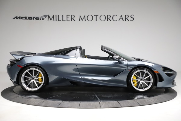 New 2021 McLaren 720S Spider for sale $351,450 at Alfa Romeo of Greenwich in Greenwich CT 06830 8