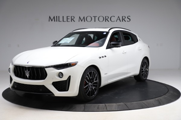 New 2021 Maserati Levante Q4 GranSport for sale $95,835 at Alfa Romeo of Greenwich in Greenwich CT 06830 1