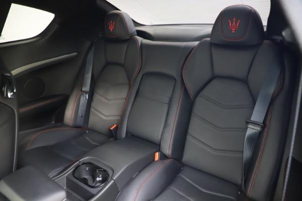 Used 2018 Maserati GranTurismo Sport for sale $99,900 at Alfa Romeo of Greenwich in Greenwich CT 06830 17