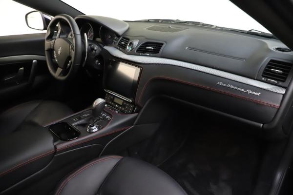 Used 2018 Maserati GranTurismo Sport for sale $99,900 at Alfa Romeo of Greenwich in Greenwich CT 06830 18