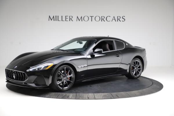 Used 2018 Maserati GranTurismo Sport for sale $99,900 at Alfa Romeo of Greenwich in Greenwich CT 06830 2