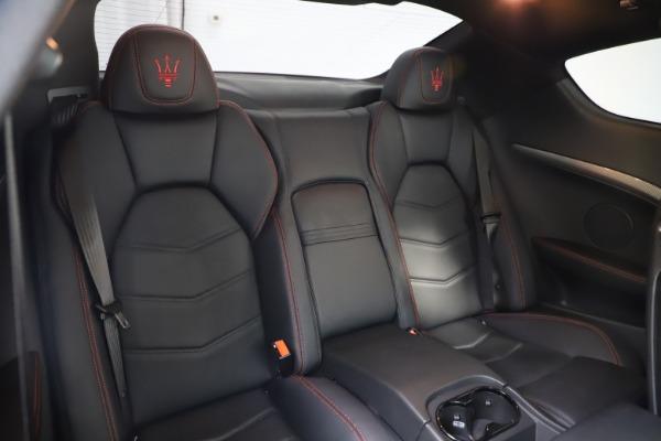 Used 2018 Maserati GranTurismo Sport for sale $99,900 at Alfa Romeo of Greenwich in Greenwich CT 06830 22